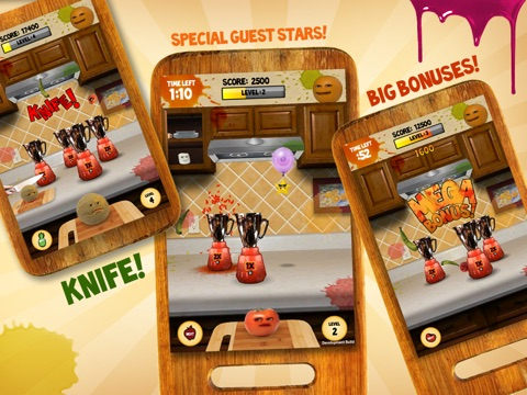 annoying orange: kitchen carnage hd on the app store