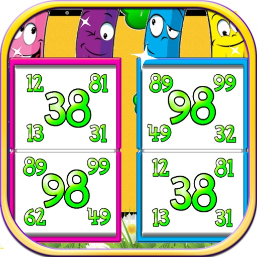 Find  The Number Games iOS App