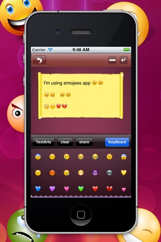 Emojees screenshot 1