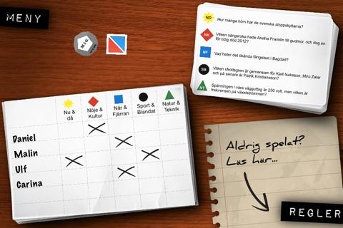 MIG - Frågespelet du tar med dig screenshot 1