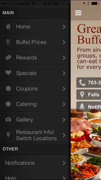 great american buffet va by total loyalty solutions rh appadvice com