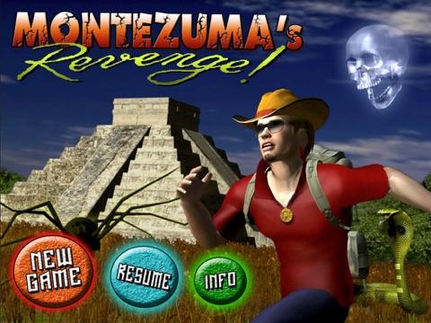 Montezuma's Revenge! Screenshots