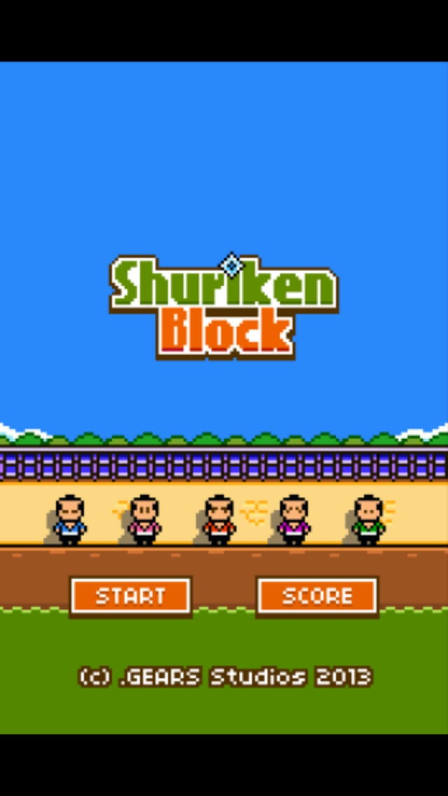 Screenshots of Shuriken Block for iPhone