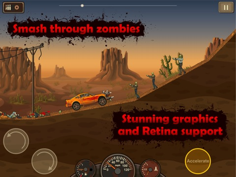 Screenshot #1 for Earn to Die HD Lite