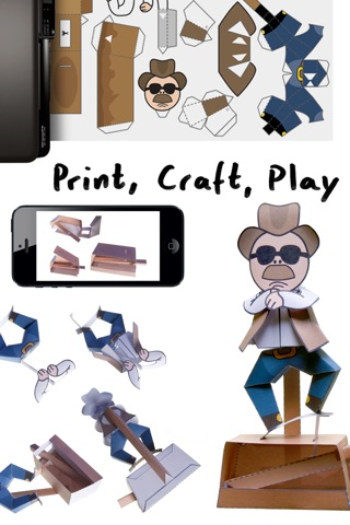 Awesome Paper Toys screenshot 3