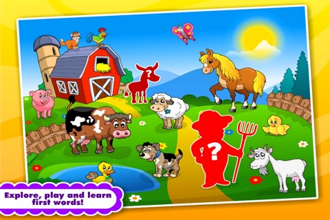 Abby Monkey® Preschool Shape Puzzles Lunchbox: Kids Favorite First Words Learning Tozzle Game for Baby and Toddler Explorers screenshot 4