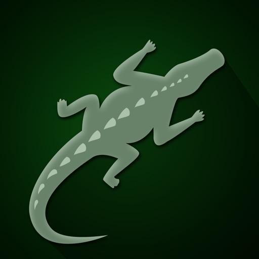 Dare to Walk on Crocodile - fast tap and run arcade game iOS App