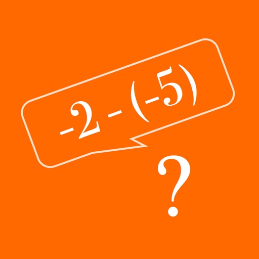 Negative Numbers - Addition & Subtraction iOS App