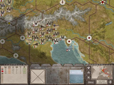 Commander the Great War на iPad