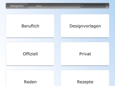 """vorlagen für pages"""" im app store, Einladung"""