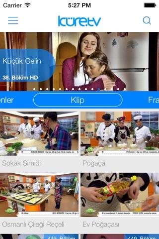 Küre Tv - Diziler, TV Rehberi, Haberler,  Filmler,  Videolar screenshot 1