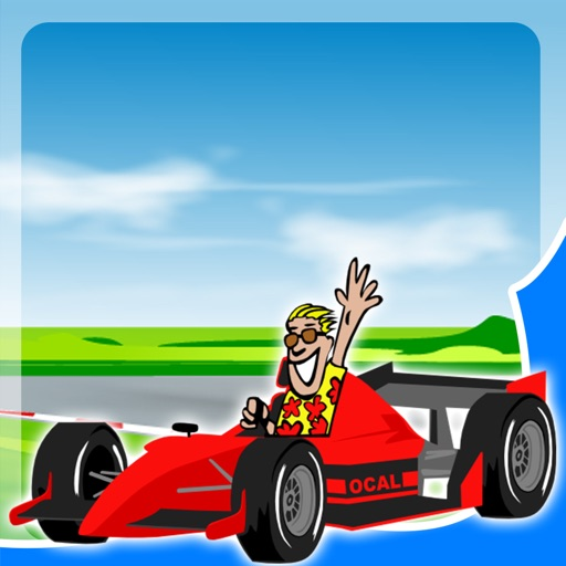 Race Car games for Toddlers - Sounds and Puzzles iOS App