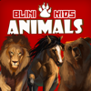 Blini Games - Blini Kids Animals for children 3 to 6 years old. Learn where they live, what they eat, what sounds they do and play minigames with the animals. The best educational app for kids. artwork