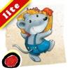 """Miko - Double Birthday: An interactive bedtime story book for kids about two best friends sharing their special day and even their gifts,  by Brigitte Weninger illustrated by Stephanie Roehe  (iPad """"Lite"""" version; by Auryn Apps)"""