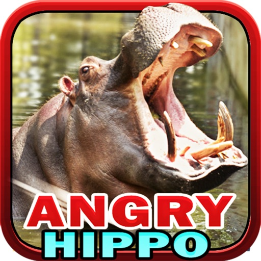 Angry Hippo Icon