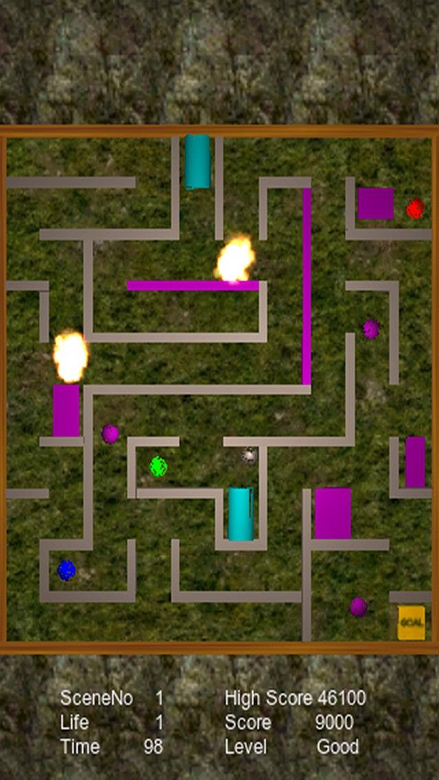トラップ迷路のスクリーンショット3