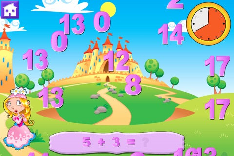 Wee Princess Math screenshot 2