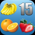 Fruit Fifteens - cult puzzle game with fruits icon