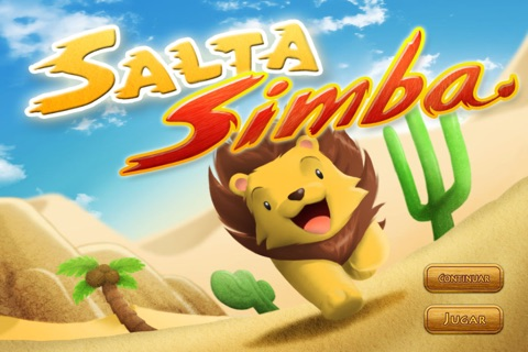 Jump Simba screenshot 1