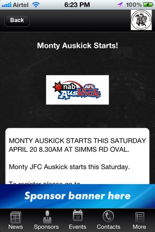Montmorency Junior Football Club screenshot 2