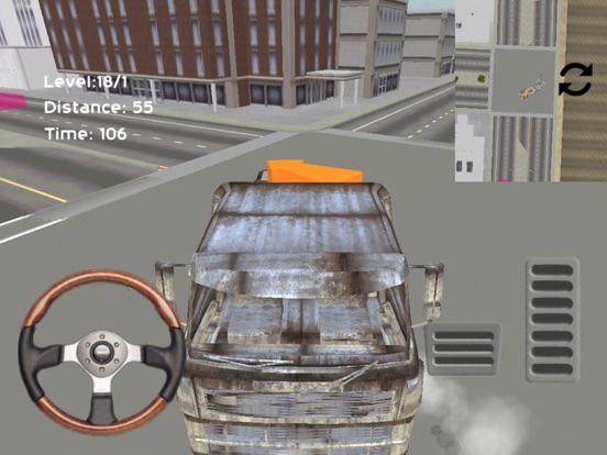 City Truck Parking Screenshot