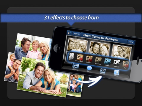 Screenshot #4 for Photo Covers for Facebook: Timeline Editor
