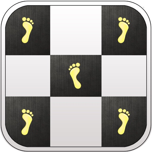 Touch Only Black Tiles iOS App