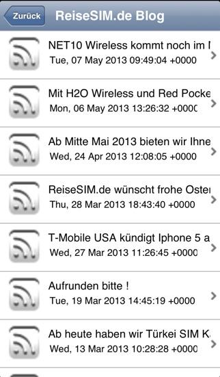 Screenshot von ReiseSIM.de3