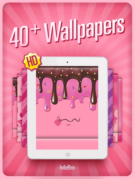 Pink Home Screen Designer HD   Valentines Edition