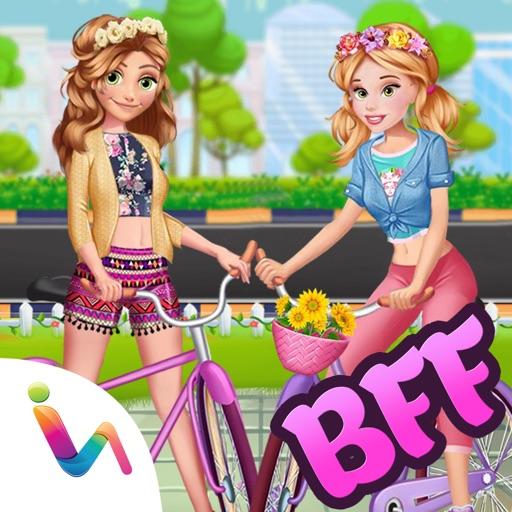Princess BFF Bicycle Ride - DressUp Games! iOS App