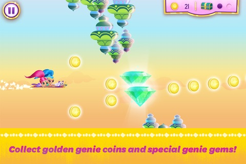 Shimmer and Shine:  Enchanted Carpet Ride Game screenshot 3