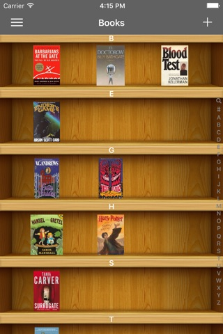 iCollect Books -- Bookshelf List Manager, Collector, Organizer & Inventory Database Buddy screenshot 2