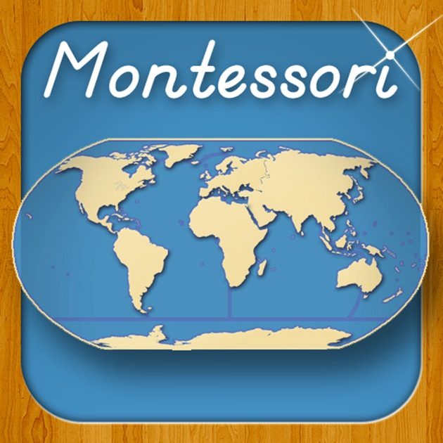 World Continents And Oceans A Montessori Approach To Geography - Map of world continents