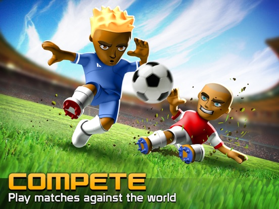 Big Win Soccer на iPad