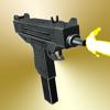 Gun Sounds On Shake - 20 guns with sound and shot animation