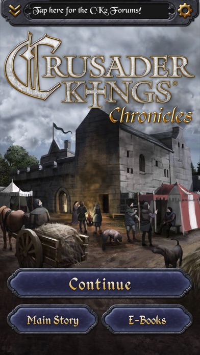 Crusader Kings: Chronicles Screenshot