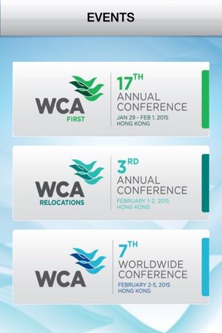 WCA Events screenshot 1