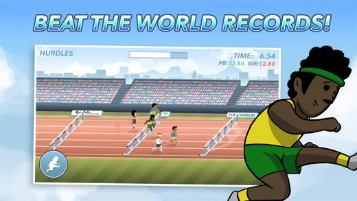 Tap Track Heroes Screenshot