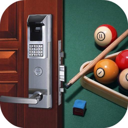 Snooker Room Escapes - Can You Escape 2049& World's Hardest Escape Game iOS App