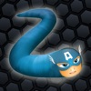 Slithering Snake Rolling - Glowing Multiplayer Player Online