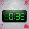Digitale Forecast Clock-Free