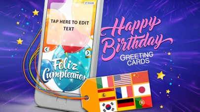Birthday Cards Multilingual Free E Card Creator To Wish Happy Bday In