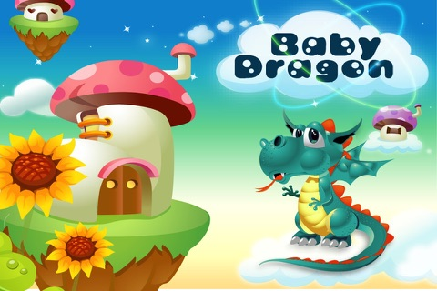 Baby Dragon Run Free screenshot 1