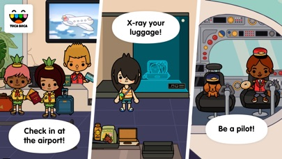 Screenshots of Toca Life: Vacation for iPhone