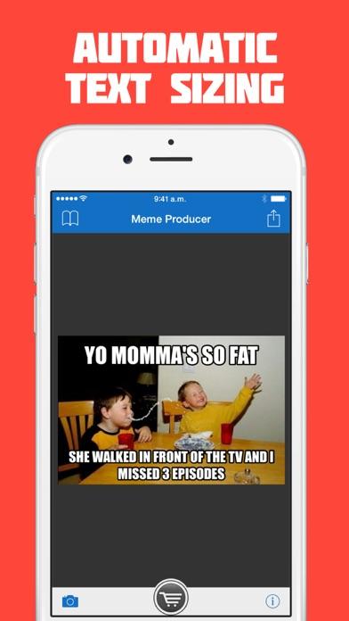 392x696bb meme producer free meme maker generator on the app store,Meme Generator Iphone App