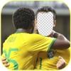 名人面部交換Edit.or - 改變工作面的頂級足球運動員的美洲杯,2016年的Centenario版