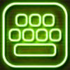 Neon LED tangentbord – Glödande tangentbord för iPhone med färgstarka teman och teckensnitt