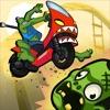 The Biking Dead: Ride, Shoot & Crash!