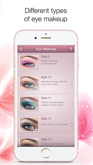 Screenshot for Eye makeup Premium in United States App Store