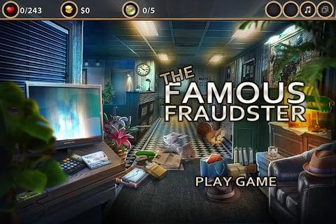 The Famous Fraudster- Hidden Object Game screenshot 1